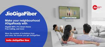 Jio Fiber Cities List 2019