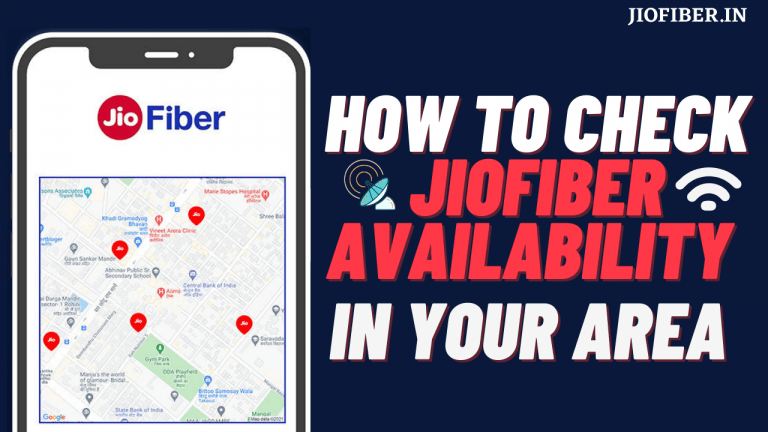 Check Jio Fiber Availability